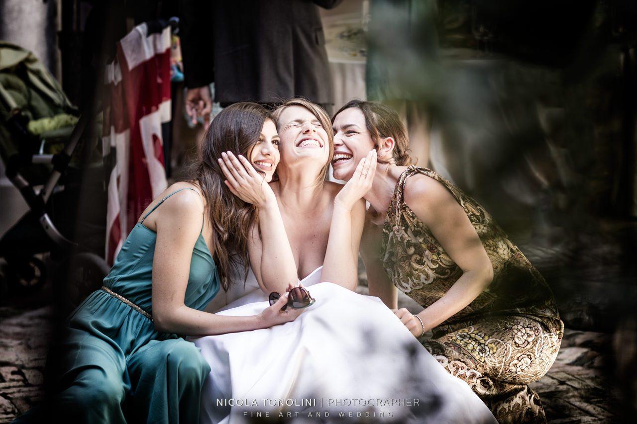 tuscany bridesmaid
