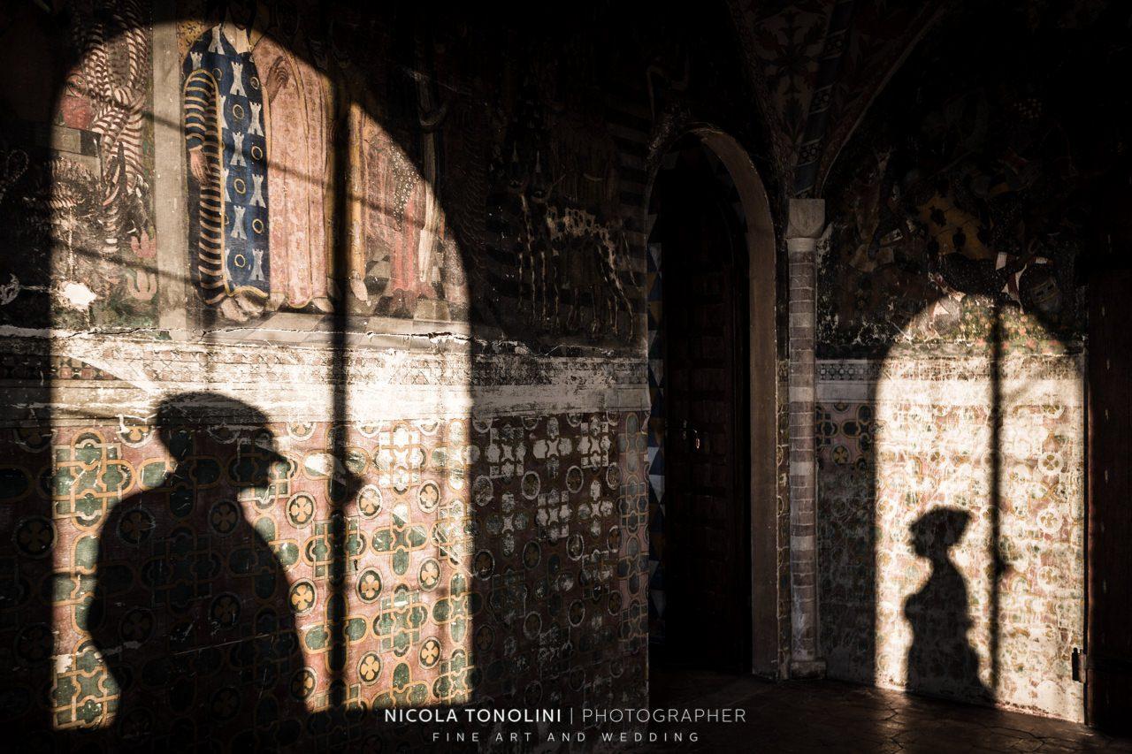 bride groom shadows photography