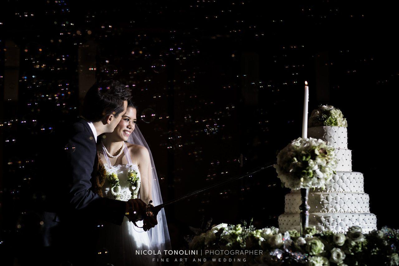 bangkok wedding cake