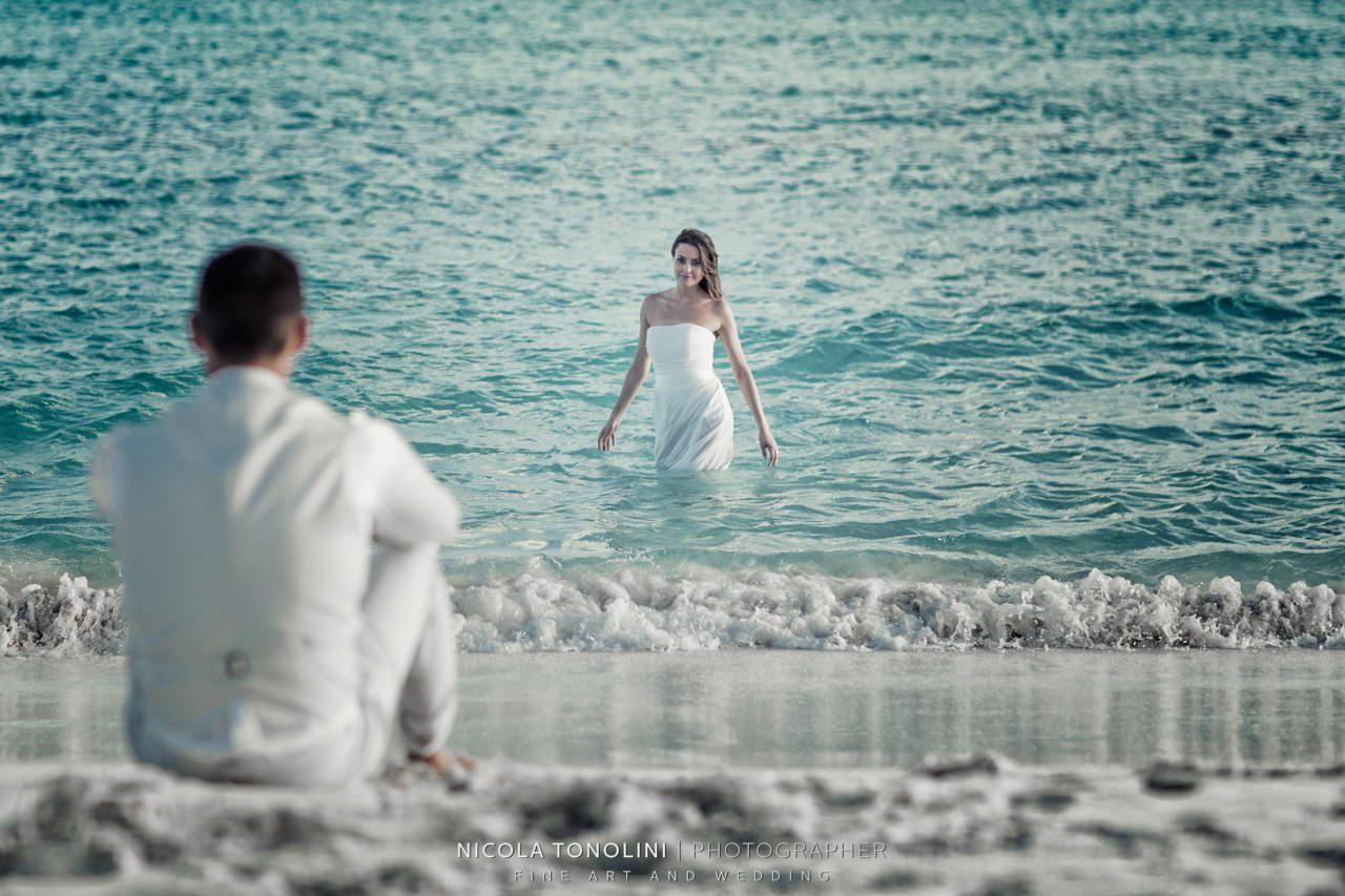 caribbean bride groom