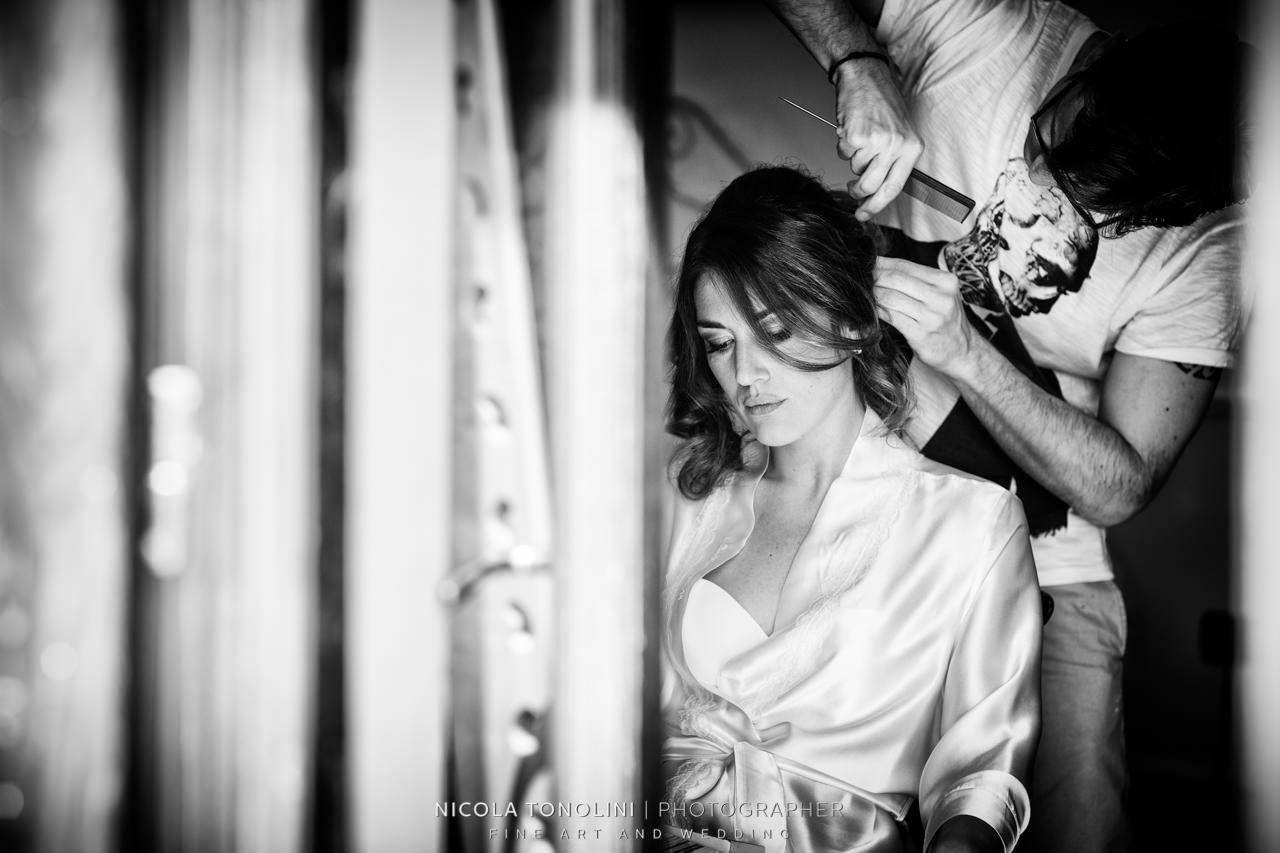 katia ancelotti getting ready