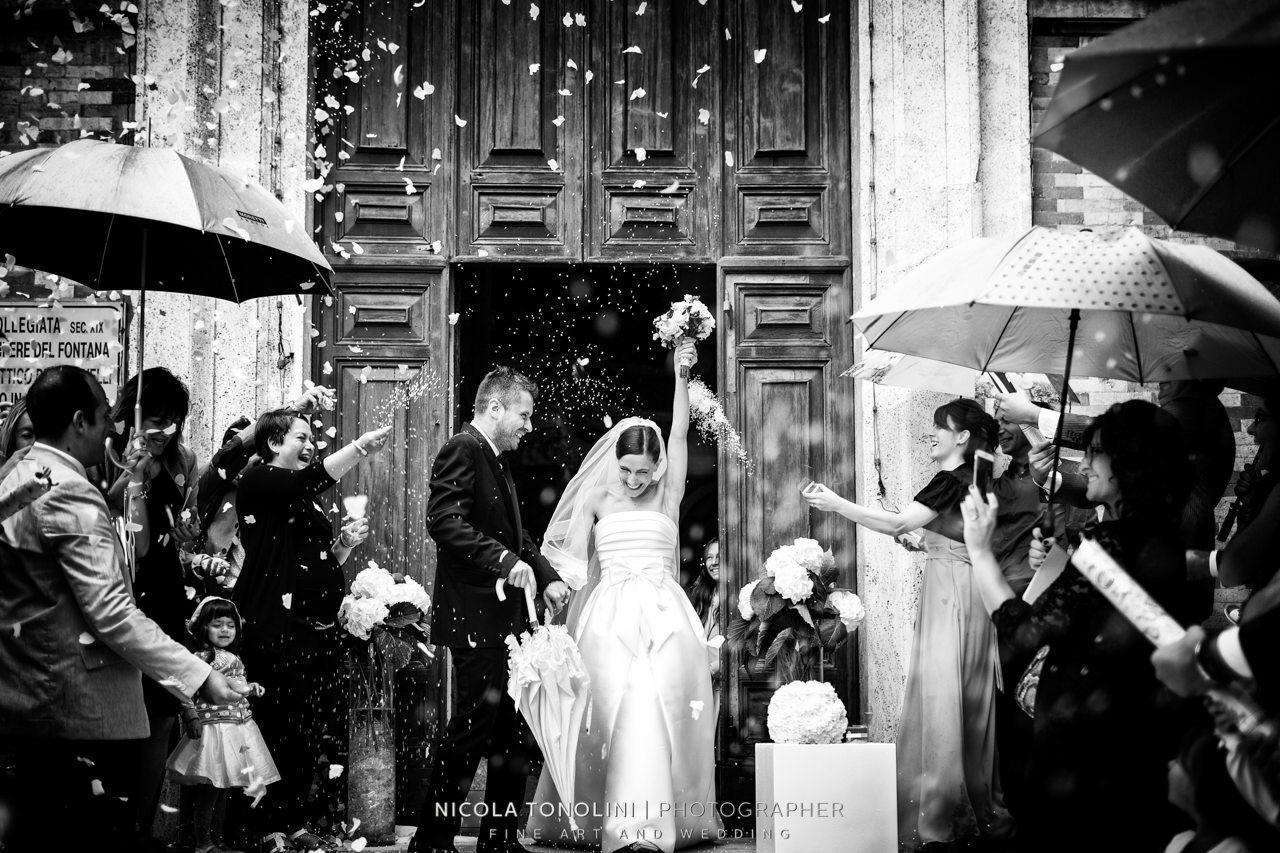 wedding black and white editing