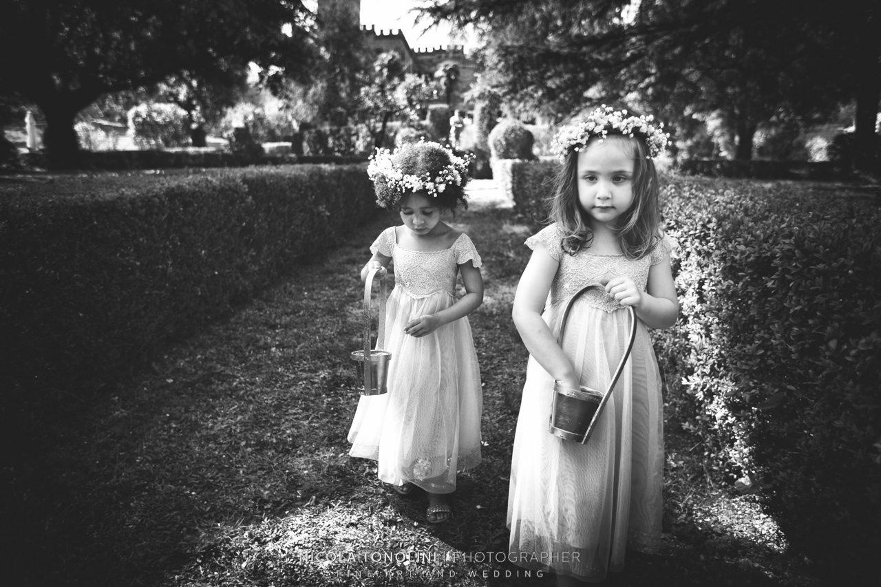 siena flower girls