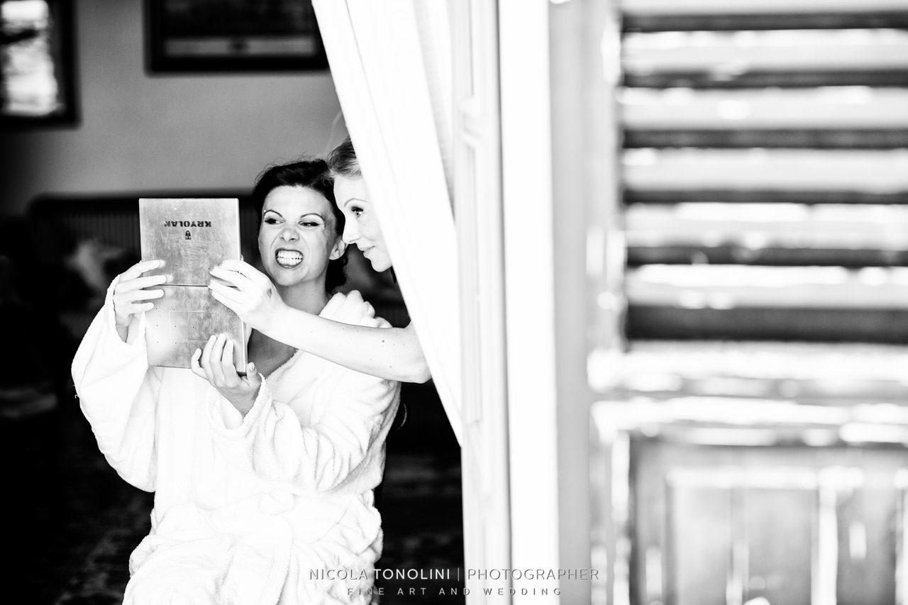 monterado bride getting ready