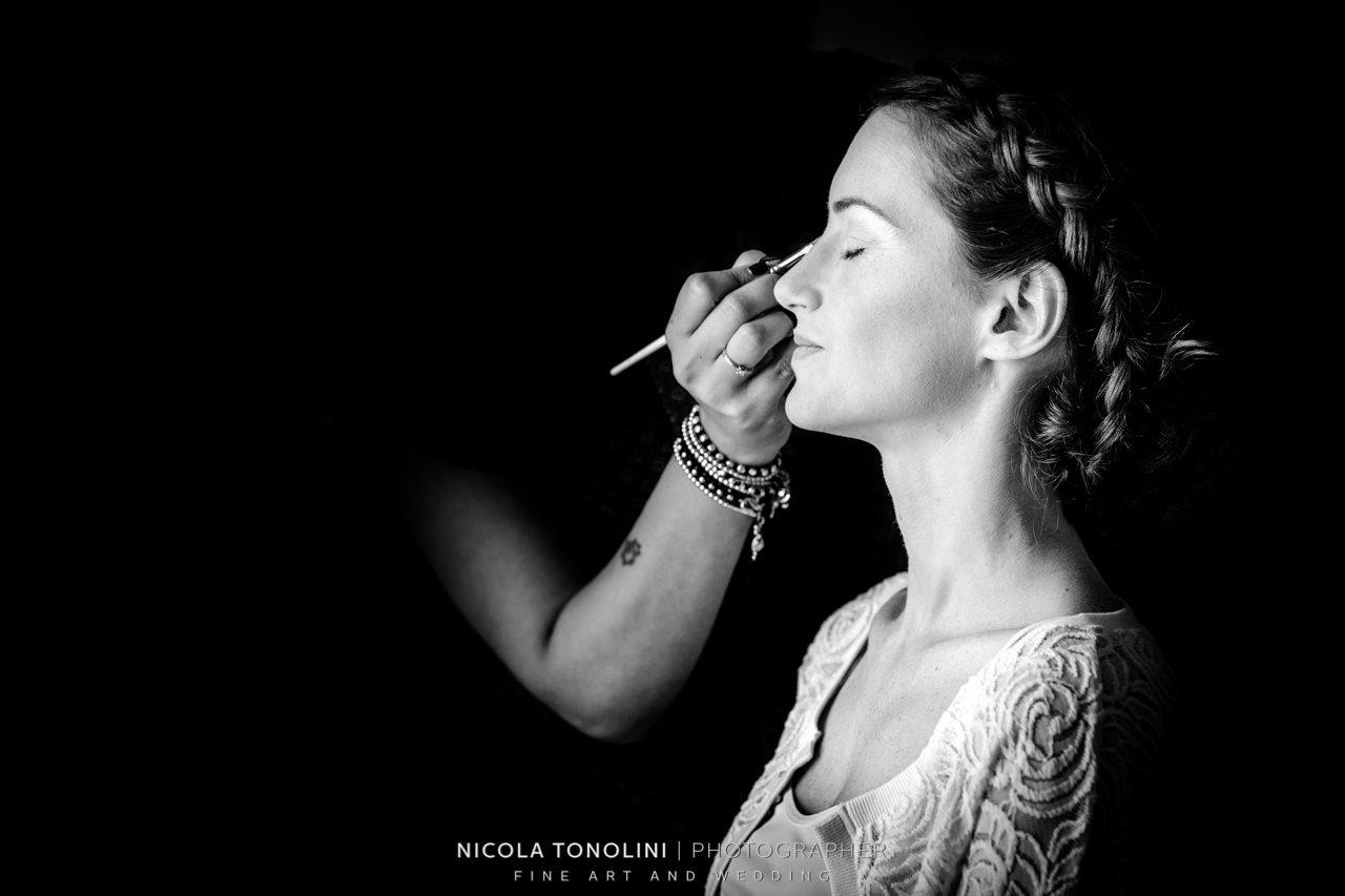 bride make up artist