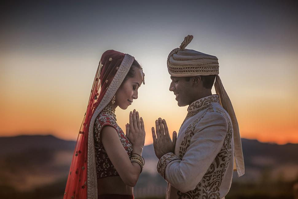Matrimonio Indiano nel Chianti