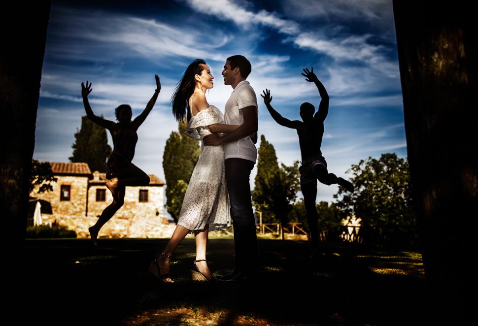 Servizio Fotografico Prematrimoniale nel Chianti