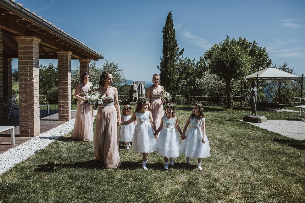 Intimate Romantic Wedding in Arezzo Countryside