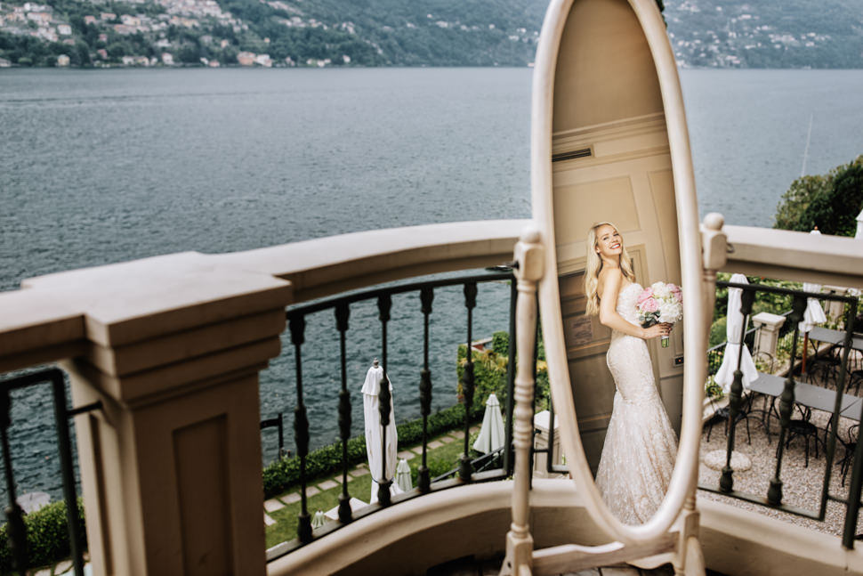 Intimate Lake Como Wedding