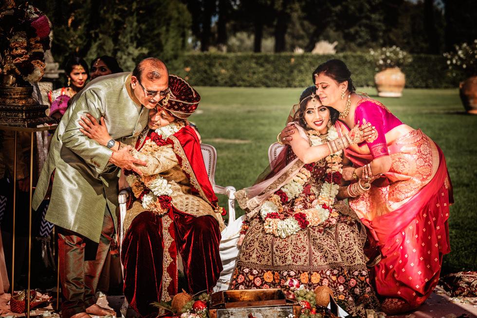 Tenuta di Artimino Indian Wedding