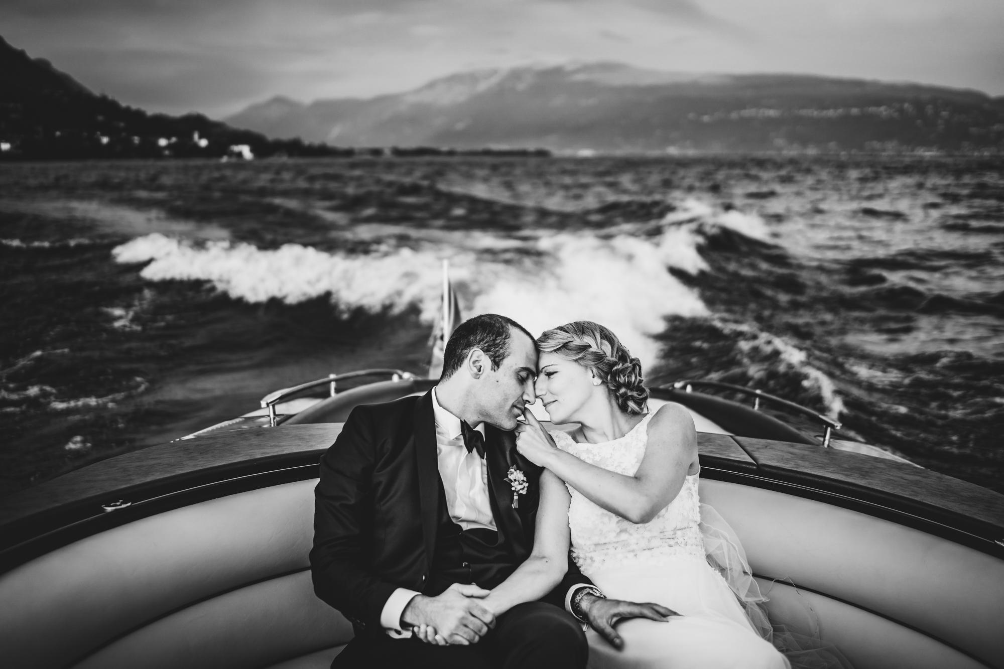 Motoscafo Riva per Matrimoni Lago di Garda