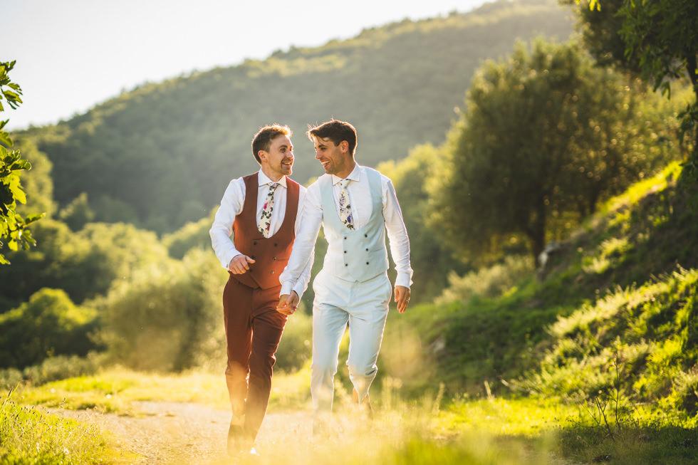Wedding at Casa Bruciata