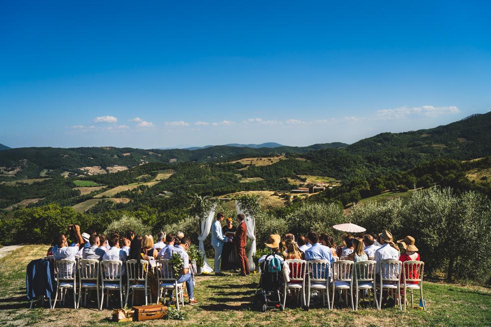 Rustic Ceremony in Umbria