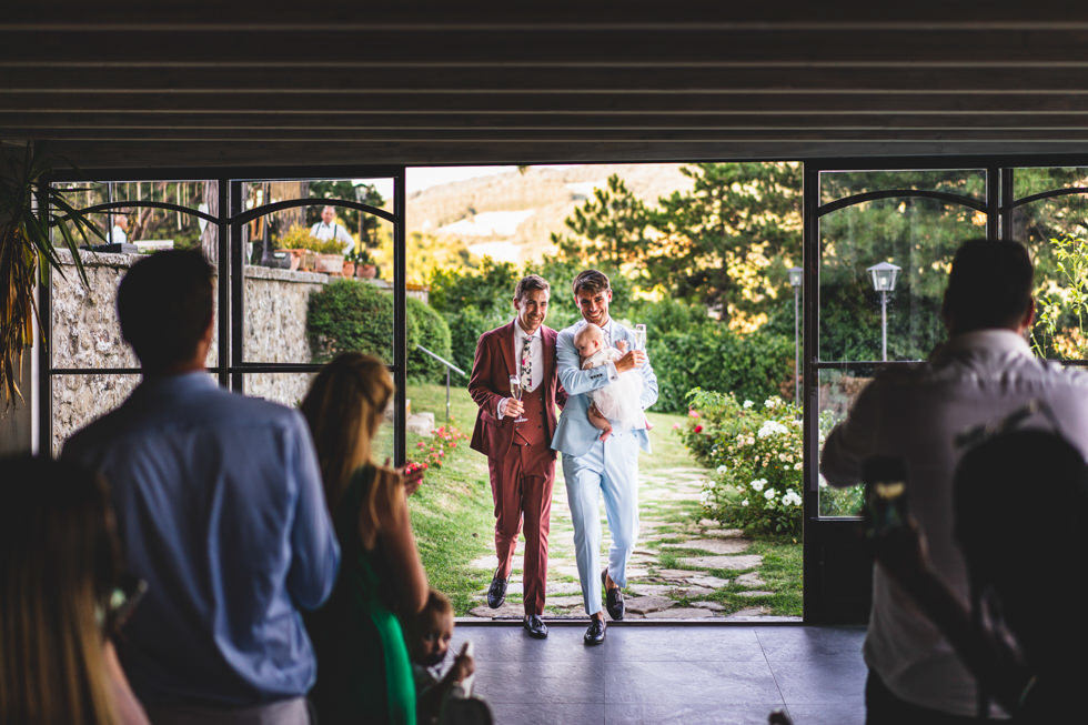 casa bruciata wedding