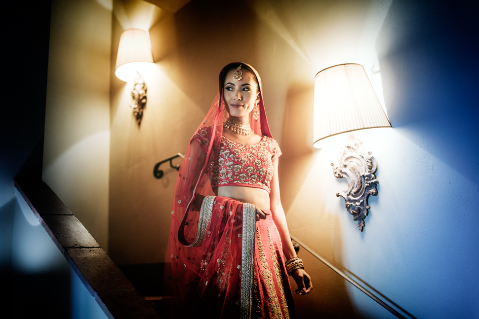 indian wedding bride dress