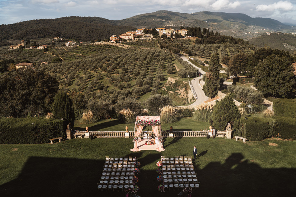 indian wedding in tuscany april