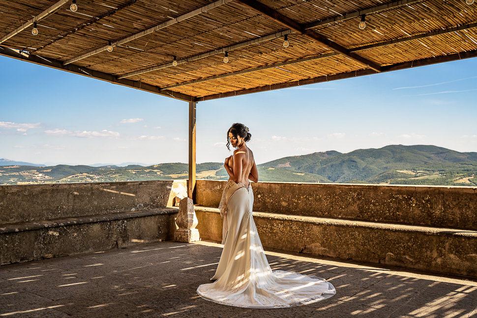 Preparativi Sposa Castello di Titignano