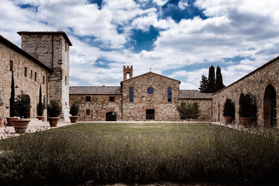Scorcio Castello di Casole