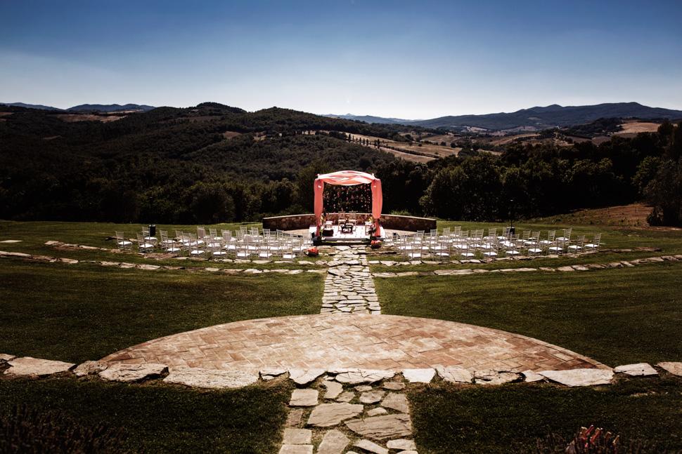 Panorama Castello di Casole
