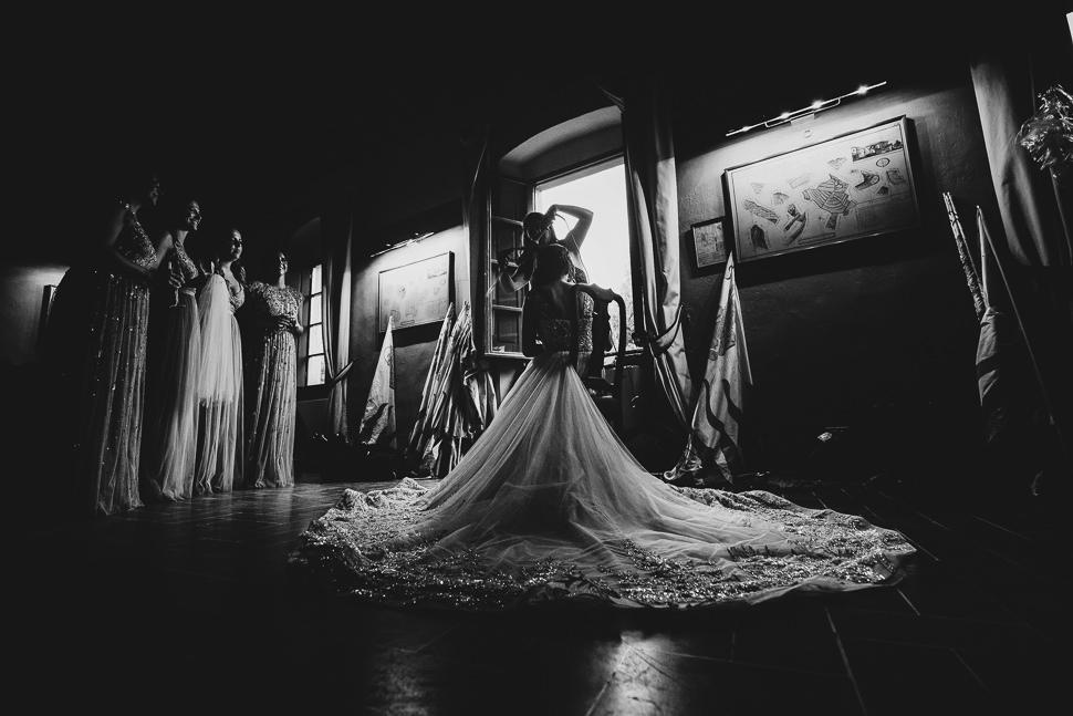 Preparativi Sposa Castello di Gargonza