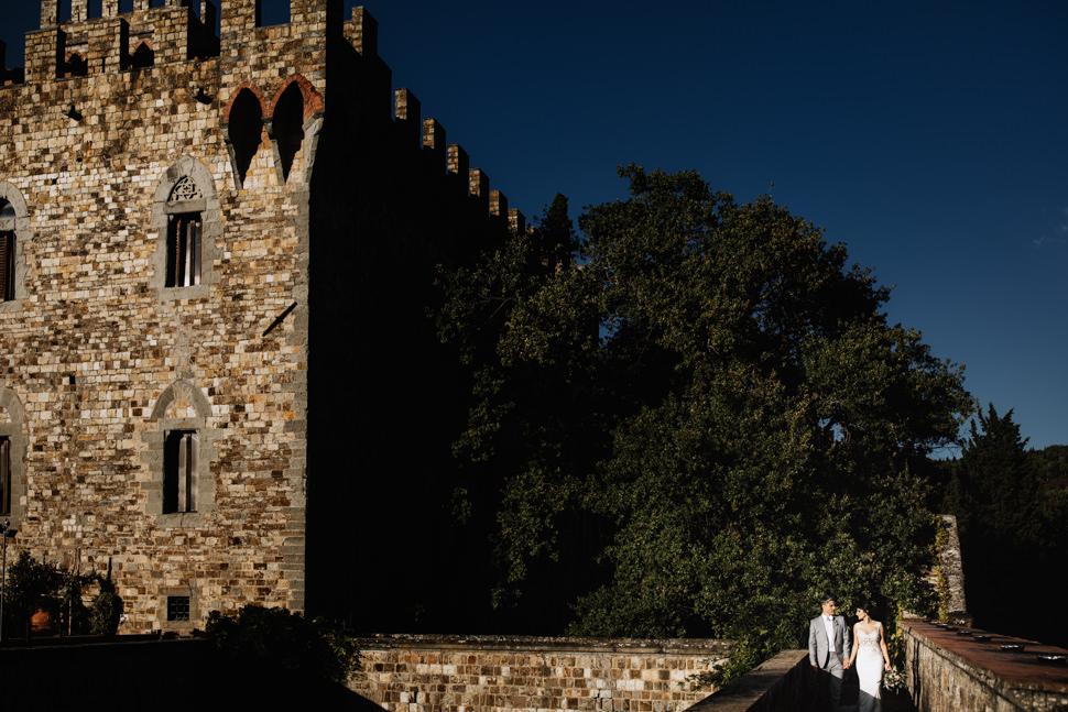 Sposi nel Castello di Vincigliata