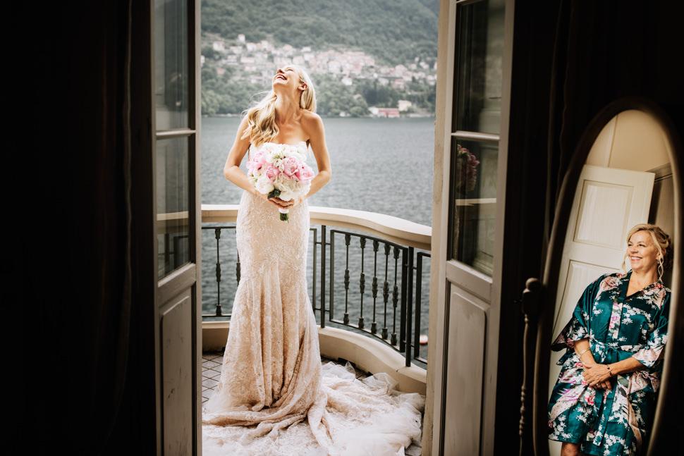 Fotografia Preparativi Sposa Lago di Como