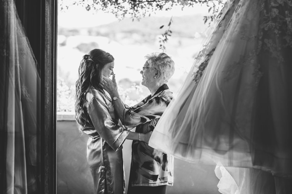 Fotografia Sposa con Nonna